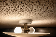 Popcorn Textured Ceiling With ...