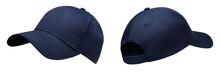 Blue Baseball Cap In Angles Vi...