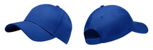 Blue Baseball Cap In Angles Vi...