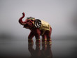 Leinwanddruck Bild - Elefantenglücksbringer