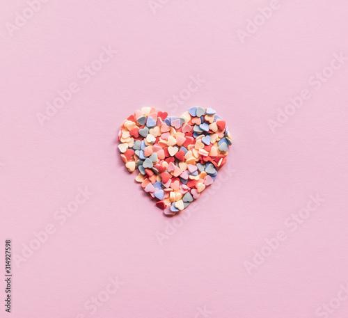 Fototapeta Valentines day background. obraz