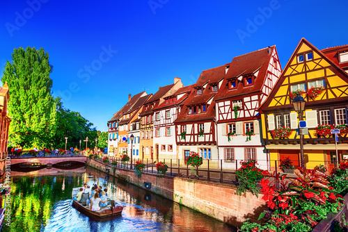 Town of Colmar Canvas Print