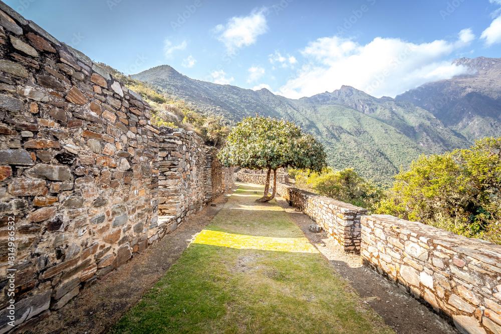 Choquequirao Inca ruins in Peru