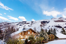 View On Alpine Village And Mou...
