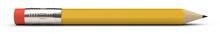 Pencil And Sharpener 3d Render...
