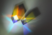 Two Reflective Cubes Refract L...