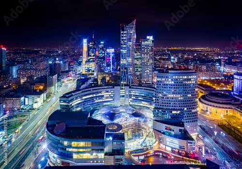 Fototapeta Warszawa obraz