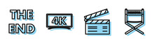 Set Line Movie Clapper , The E...