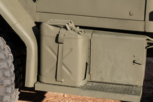 Green Military Jerrycan Or Fue...