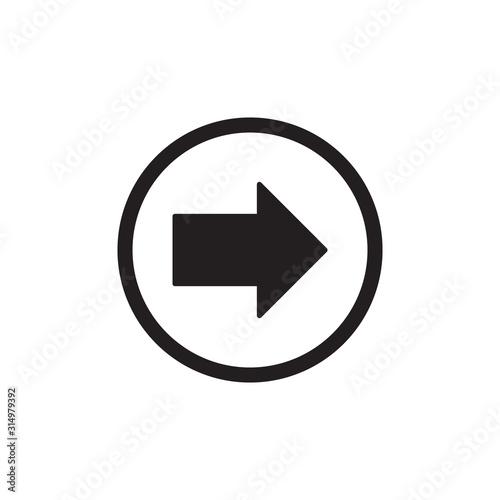 Photo Next Arow icon Design Eps 10