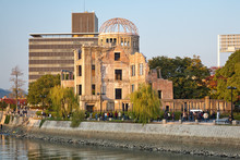 Atomic Bomb Dome On The Rivers...