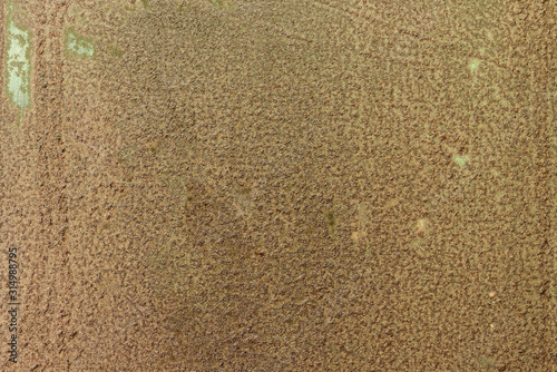 Fotografía  Rust texture as metal plate background