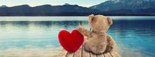 Valentinsgeschenk - Teddy Mit ...