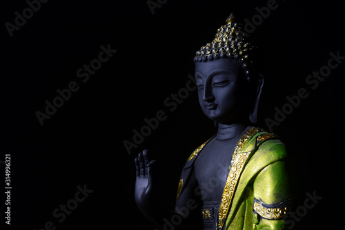 Obraz na płótnie Lord Buddha, Pioneer or founder of Buddhism