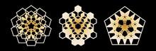 Abstract Geometric Ornamental ...