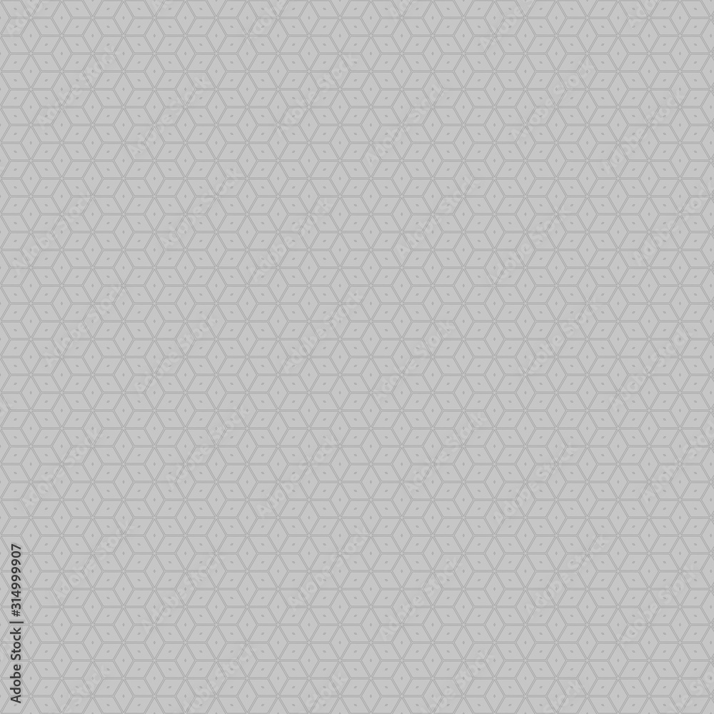 Fototapeta Illustration Black and white with repeated geometric shapes covering the background. Editable and colorable pattern for motifs, web, wallpaper, digital graphics and artistic decorations.