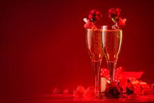 Valentines Day Red Background ...
