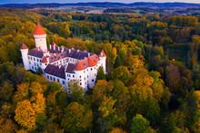 Medieval Konopiste Castle In C...