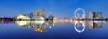 Panoramic Image Of Singapore S...