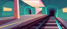 Metro Station, Empty Subway Pl...