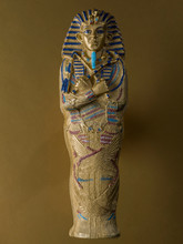 Figure Representing The Sarcophagus Of Tutankhamun,
