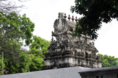 Fotografie, Obraz monumental tower Sthalasayana Perumal Temple at Mahabalipuram