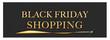 Black Friday shopping web Sticker Button