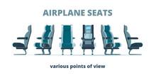 Airplane Seat. Aircraft Interi...
