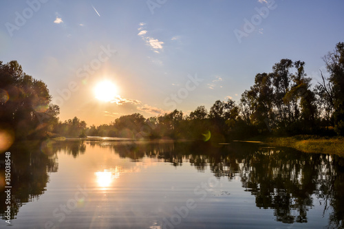 Canvas Wild Brenta River
