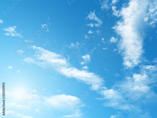 Fotomural アニメ調の空
