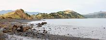 Onawe Paninsula Volcanic Plug, Akaroa Harbour, New Zealand