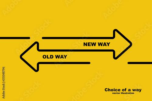 Photo Choice of a way