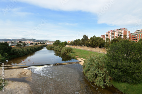 Photo River Besos Sant Adria de Besos, Barcelona province, Catalonia, Spain (Photo fro