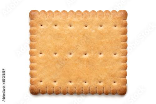 Fototapeta Butter biscuits on white. obraz