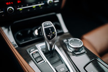 Modern Car Automatic Gearbox Shift Handle