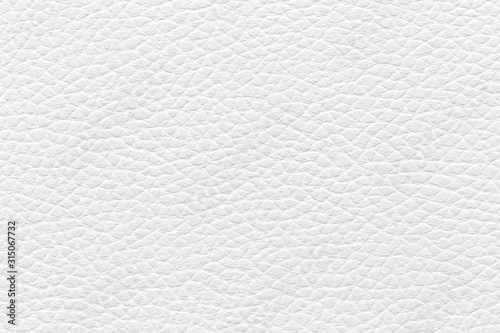 Obraz White leather texture used as background - fototapety do salonu
