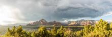 Gewitter Bei Sedona