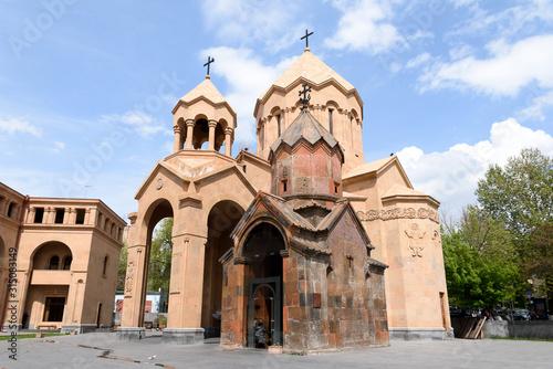 Yerevan, Armenia-April, 29 2019: Church of St Canvas Print