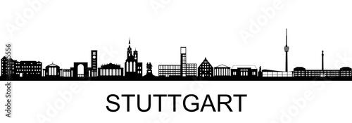 Fotomural Stuttgart Skyline