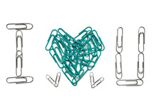 I Love You From Paper Clips Is...