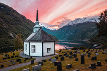 Classical Norwegian Church In ...