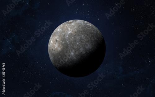 Fotografie, Obraz Planet Mercury.