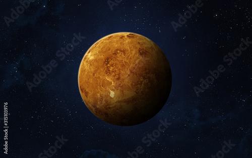 Planet Venus. Fotobehang
