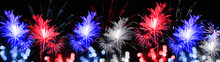 Firework And Bokeh Lights At N...