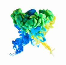 Multicolor Ink Formation On Wh...