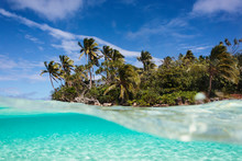 Tropical Island Beach Beyond O...