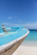 Close Up Turquoise Blue Boat O...