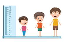 Height Measure For Little Children
