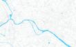 Berlin, Germany bright vector map