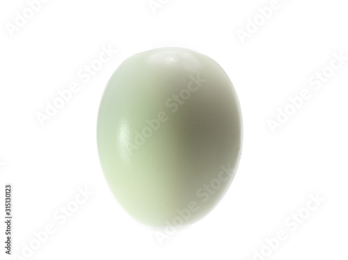 Photo boiled egg isolated on white background